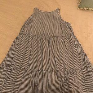 Old navy seersucker print dress size 1x